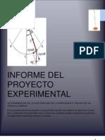 Informe Del Proyecto Experimental