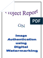 Image Authentication Using Reversible Watermarking