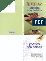 Postres Con Helado