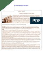 Case Pe Struct Lemn - Date Tehnice