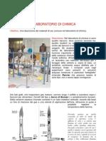 Elenco della vetreria del lab chimico