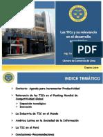 TIC y Desarrollo Economico C Durand