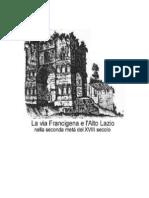 1. La via Cassia-francigena e l'Alto Lazio Xviii Sec - Fabrizio Dal Passo