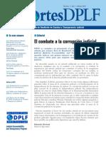 Combate de la corrupción judicial-Revista