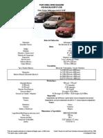 Volkswagen Gol G3 1.8 5P (1999) Ficha Técnica, Datos Oficiales y de Prueba
