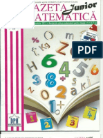 Gazeta Matematica Junior Noi 2011