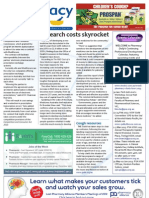 Pharmacy Daily for Fri 07 Dec 2012 - Research costs up, eRx Script approval, Diabetes management and much more...