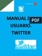 Manual de Usuario. Twitter