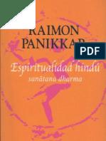 Panikkar, Raimon - Espiritualidad Hindu