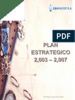 Plan Estrategico 2003 2007