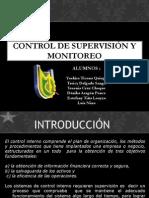 Control Interno Supervision o Monitoreo