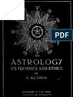 C.aq Libra Astrology Its Technics and Ethics