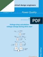 Voltage drop calculation