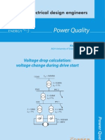 Voltage drop calculation