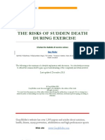 The Risks of Sudden Death during Exercise
