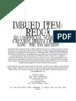 Imbue Item Redux 1.1