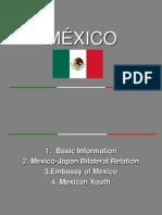 Presentación México Artes Liberales U. Sofía 061212