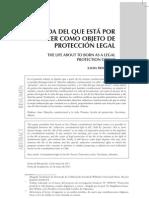 Dialnet-LaVidaDelQueEstaPorNacerComoObjetoDeProteccionLega-3869155