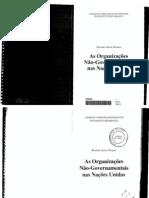 As Organizacoes Nao-governamentais Na Onu