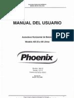 Autoclave Phoenix Modelo AB 25Lts