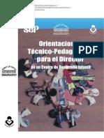 Manual de Orientaciones Técnico-Pedagógicas para el Director de un Centro de Desarrollo Infantil.