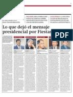 Gestin - Especial - El Mensaje Presidencial Bajo La Lupa 1