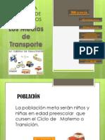 Medios de Transporte - Popuesta Pedagogica Con Ayuda de MM- Ma. Del Rosario Madriz