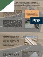 obras de drenaje y subdrenaje de carreteras