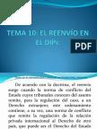 TEMA 10. El Reenvio