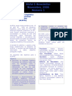 ALSFAL Newsletter 1 Nov-2006 Portugues