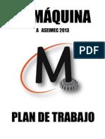 Plan de Trabajo - La Máquina