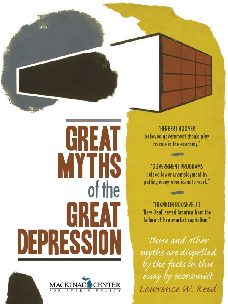 comparative article review the great depression