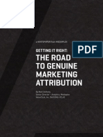 How to Get Marketing Attribution Right