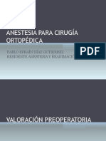 Anestesia Para Cirugia Ortopedica (1)