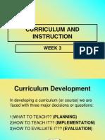 Week 3 - Models of Curriculum