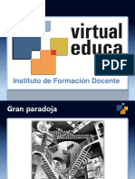 Presentación del Posgrado en Entornos Virtuales, Virtual Educa 2012/2013