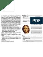Proyecto de Vida de Jesus de Nazareth