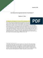 2011CI Rajan Financial Development