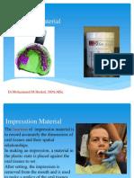 1 Impression Materials.