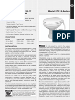 Jabsco 37010 Marine Toilet