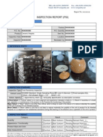 Ceramic Product Inspection Sample Report