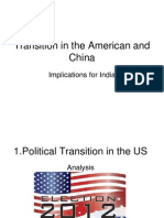 Vimarsha on 'Transition in America and China
