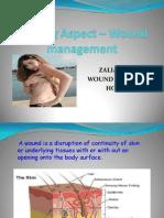 Nursing Aspect – Wound management