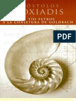 El Tío Petros y La Congetura de Goldbach