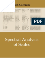 Spectral Analysis of Scales