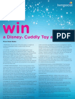 Win a Disney Cuddly Toy and DVD