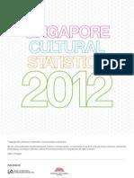 Singapore Cultural Statistics 2012