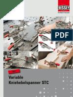 BESSEY Variable Kniehebelspanner STC