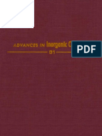 Advances in Inorganic Chemistry Volume 31