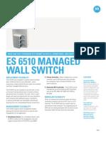 ES6510 Spec Sheet